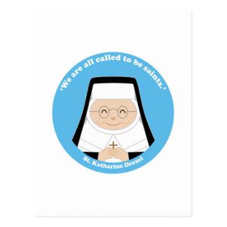 St. Katharine Drexel Postcard