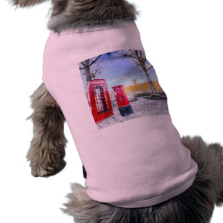 St Katherines Dock London Art Shirt