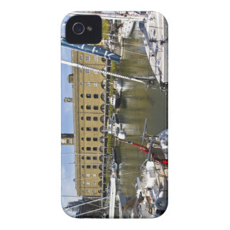 St Katherines Dock London iPhone 4 Covers