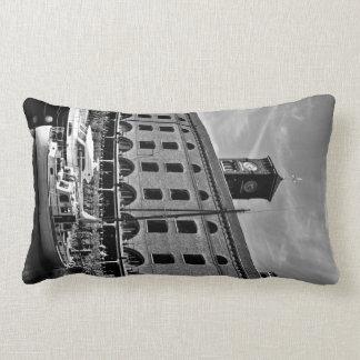 St Katherines Dock London Lumbar Pillow