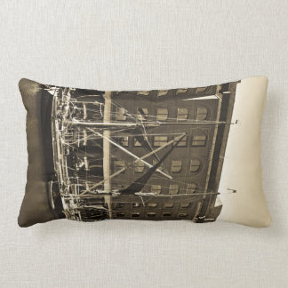 St Katherine's Dock London Lumbar Pillow