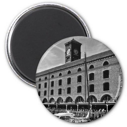 St Katherines Dock London Magnet