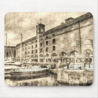 St Katherine's Dock London Mouse Pad