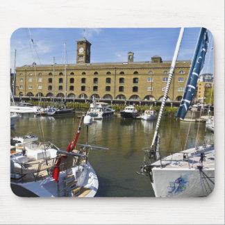 St Katherines Dock London Mouse Pad