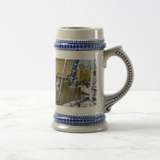 St Katherines Dock London Coffee Mugs