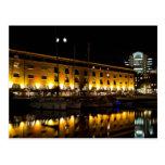 St Katherines Dock London night View Postcards