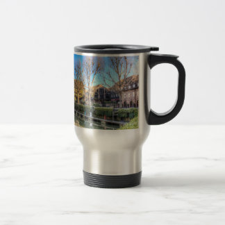 St Katherines Dock London Travel Mug