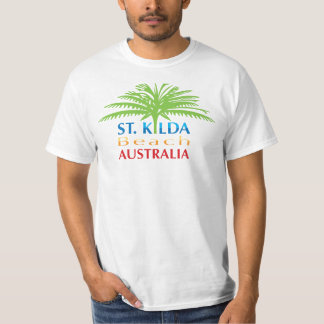 St.Kilda Beach tshirt bold colour