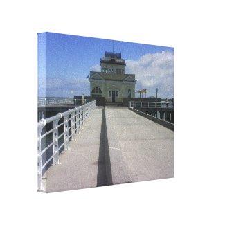 St Kilda Pier wrappedcanvas