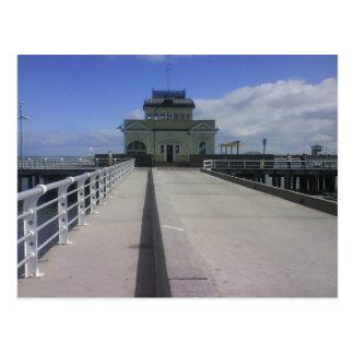 St Kilda Pier Postcard
