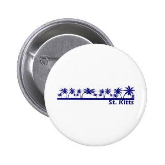 St. Kitts 2 Inch Round Button