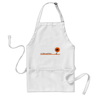 St. Kitts and Nevis Adult Apron