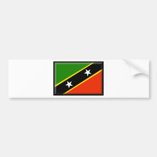 St. Kitts and Nevis Car Bumper Sticker
