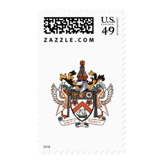 St Kitts and Nevis coat of arms Stamps