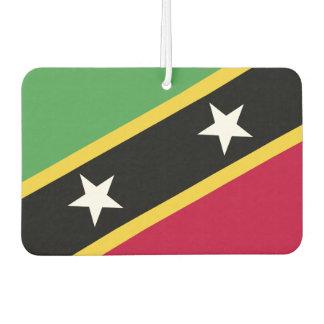 St. Kitts and Nevis Flag Air Freshener
