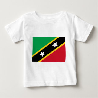 St Kitts and Nevis Flag Baby T-Shirt