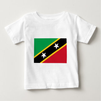 St. Kitts And Nevis Flag Baby T-Shirt