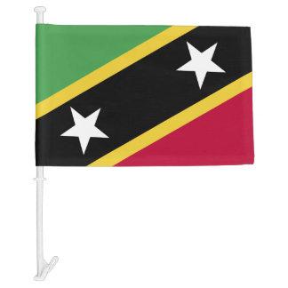 St Kitts and Nevis Flag Car Flag