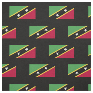 St Kitts and Nevis Flag Fabric