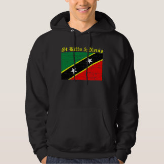 St Kitts and Nevis Flag Hoodie