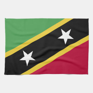 St. Kitts and Nevis Flag Kitchen Towel