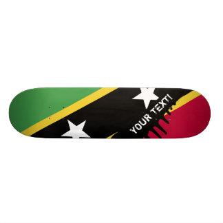 St Kitts and Nevis Flag Skateboard