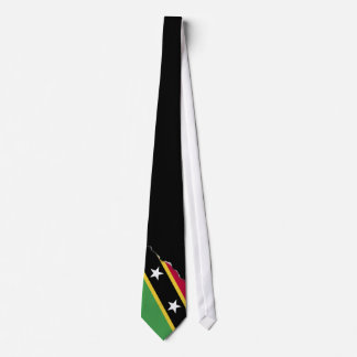 St Kitts and Nevis Flag Tie