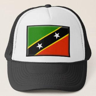 St. Kitts and Nevis Flag Trucker Hat