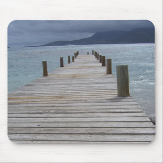 St.Kitts and Nevis-Pier Mouse Pad