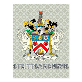 St. kitts and nevis postcard