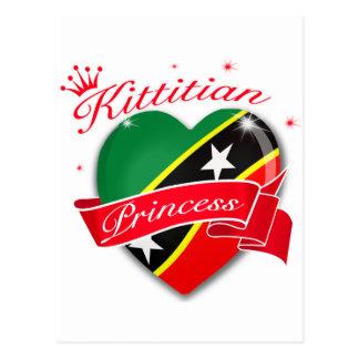 St Kitts and Nevis Princess Postcard
