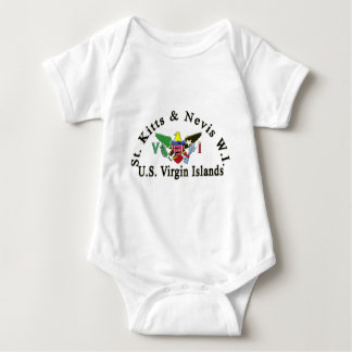 St. Kitts and Nevis / US Virgin Islands Infant Creeper