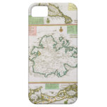 St. Kitts, Antigua and Bermuda, detail from a map iPhone SE/5/5s Case