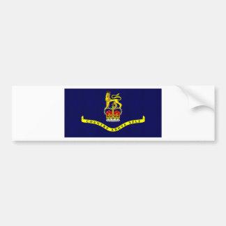 St Kitts Nevis Governor General Flag Car Bumper Sticker