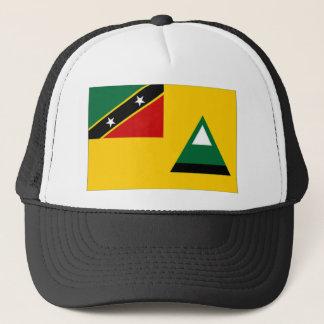St Kitts Nevis Local Flag Trucker Hat
