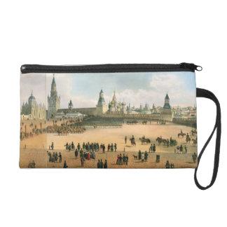St. La catedral de la albahaca vista del Kremlin,