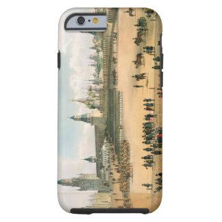 St. La catedral de la albahaca vista del Kremlin, Funda Para iPhone 6 Tough