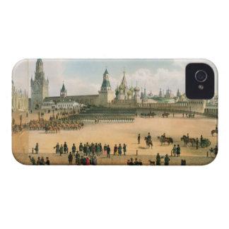 St. La catedral de la albahaca vista del Kremlin, iPhone 4 Case-Mate Carcasas