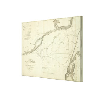 St. Lawrence and Adjacent Country Canvas Print