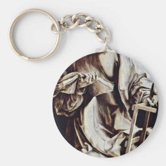 St. Lawrence By Grünewald Mathis Gothart Basic Round Button Keychain