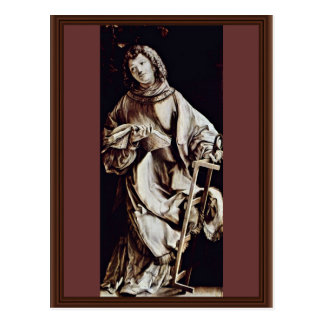 St. Lawrence By Grünewald Mathis Gothart Postcard