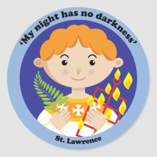 St. Lawrence Classic Round Sticker