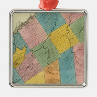 St Lawrence County 2 Metal Ornament
