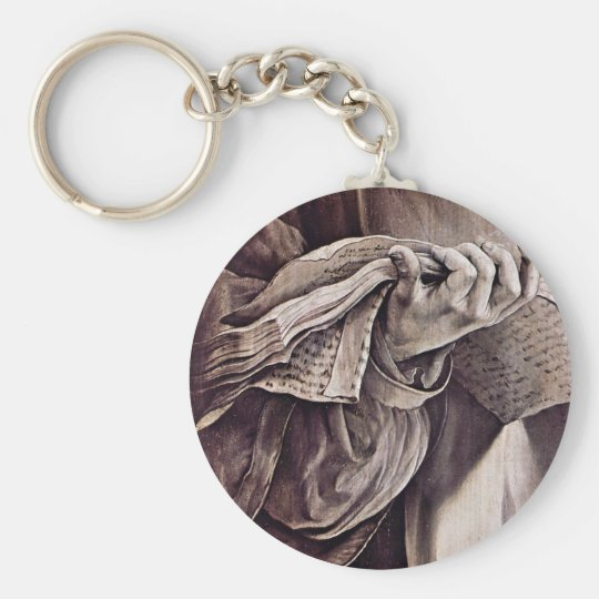 St. Lawrence Detail By Grünewald Mathis Gothart Keychain