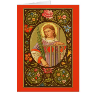 St. Lawrence of Rome (PM 04) Blank Custom Card #1