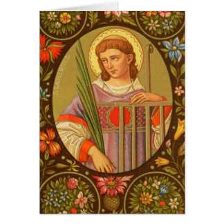 St. Lawrence of Rome (PM 04) Blank Custom Card #2