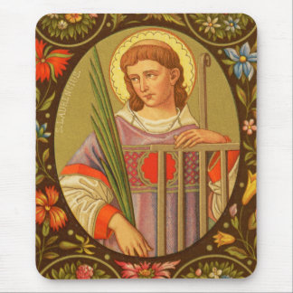St. Lawrence of Rome (PM 04) Mouse Pad