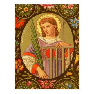 St. Lawrence of Rome (PM 04) Postcard #2