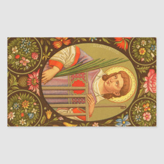St. Lawrence of Rome (PM 04) Rectangular Sticker