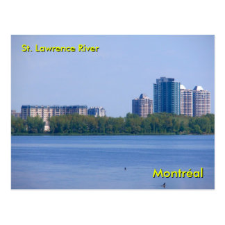 St Lawrence River Post Card